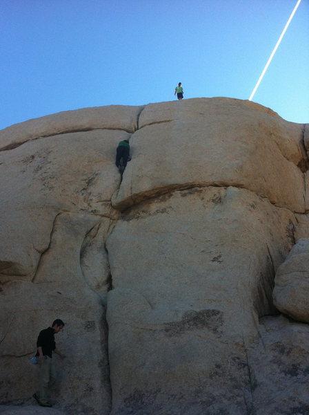 Rock Climbing Photo: Team solo, with Jetstream.