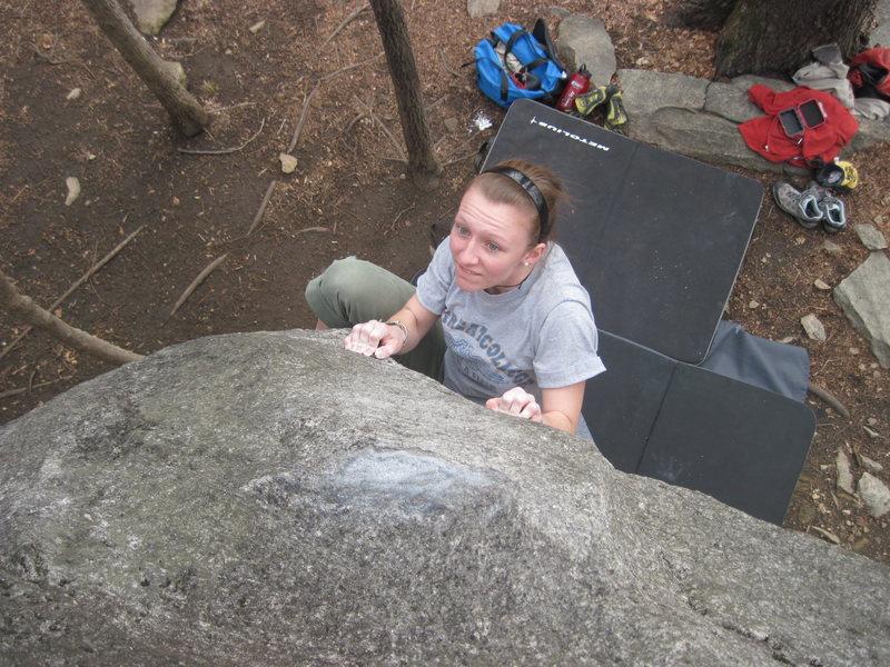 Rock Climbing Photo: <3