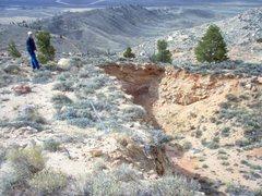 Rock Climbing Photo: Subsidence