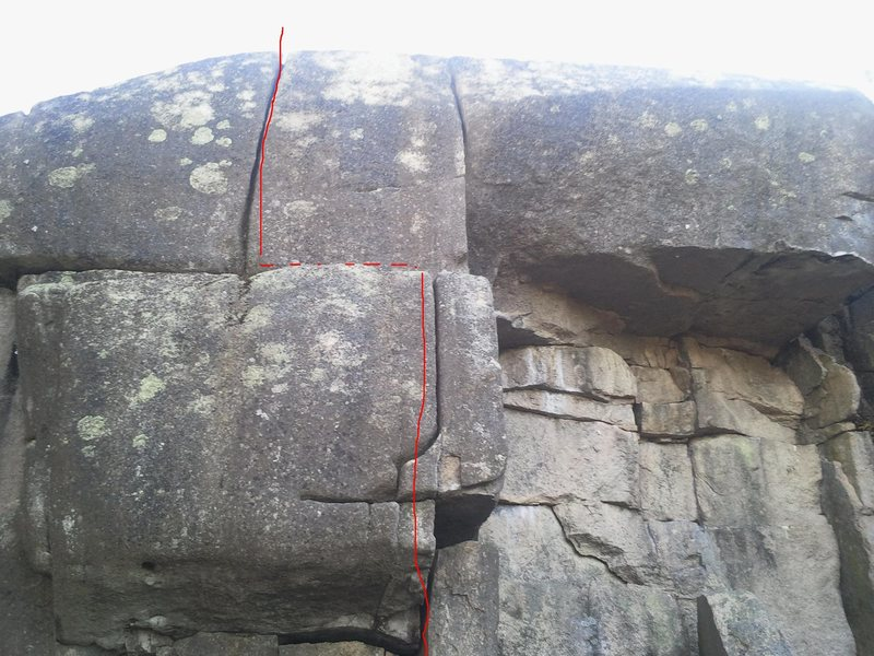 Rock Climbing Photo: Breadbox Crack 10+