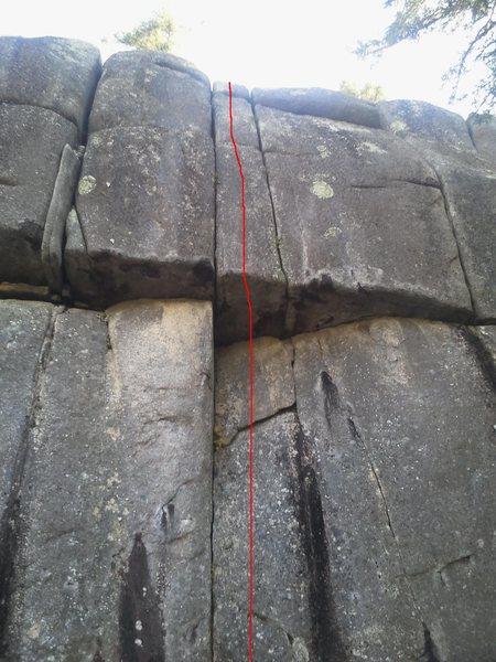 Rock Climbing Photo: The Twin Cracks 12-