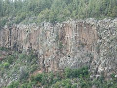 Rock Climbing Photo: shows Twin Cracks and Gray Corner, zoom in for hig...