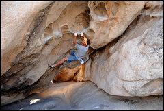 "Rock Climbing Photo: Blueblocr posing on ""Caveman"". Photo by ..."