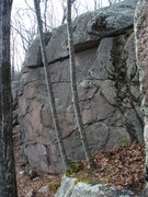 Rock Climbing Photo: The Second Wall -precleaning