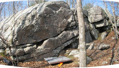 Rock Climbing Photo: The First (Warm-up) Wall - semicleaned