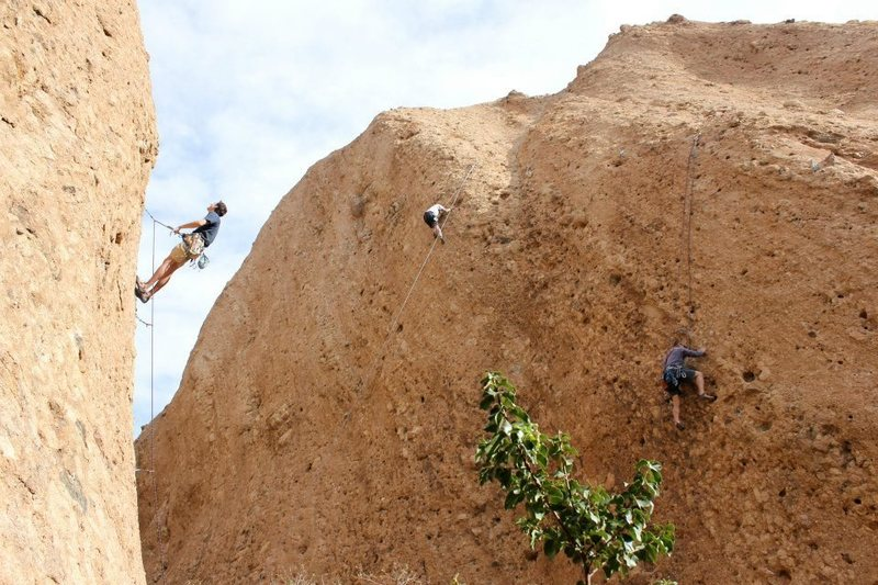 Rock Climbing Photo: The Canyon is full of quality climbing from 5.8 to...