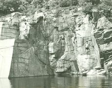 Concord, NH Quarries 1967 Jump