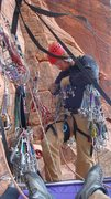 Rock Climbing Photo: way too much gear