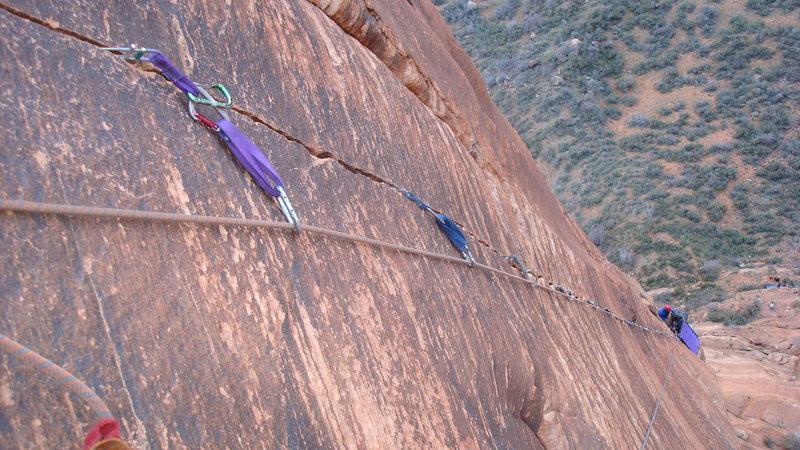 Rock Climbing Photo: look at that splitter