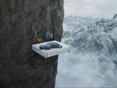 Rock Climbing Photo: Comfort in the clouds