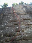 Rock Climbing Photo: Rocky Road 11c