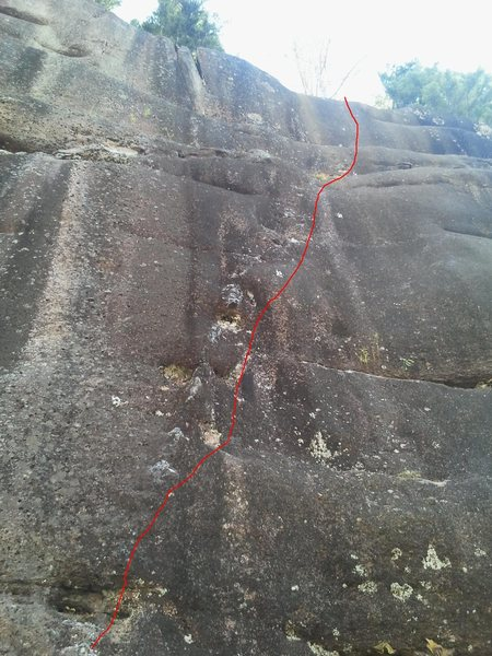 Rock Climbing Photo: Deception Dike 10c/d