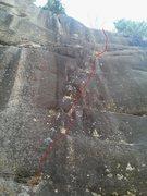 Rock Climbing Photo: Deception Dike 10c/d