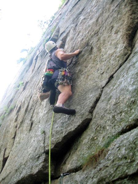 Rock Climbing Photo: Twisted Sister (.8)