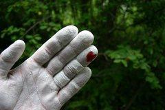 Rock Climbing Photo: heart