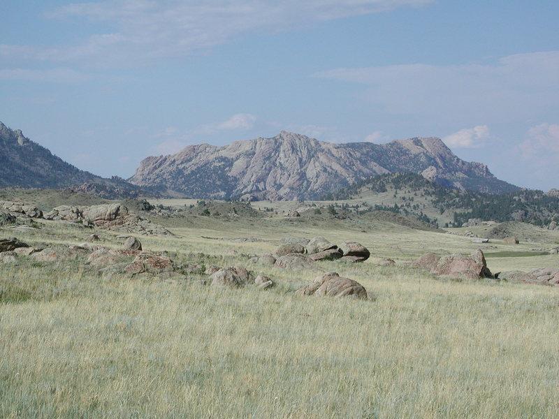 Rock Climbing Photo: Reese Mountain