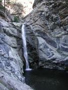 Rock Climbing Photo: Duck Creek Falls