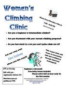 Women's Climbing Clinic