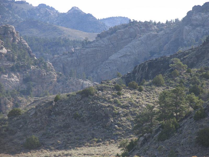 Laramie River Canyon Climbing Area