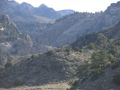 Rock Climbing Photo: Laramie River Canyon Climbing Area