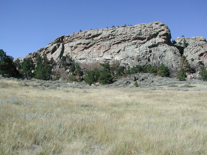Rock Climbing Photo: Biggest Kennedy Ranch Rock