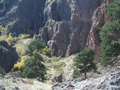 Rock Climbing Photo: Duck Creek Canyon
