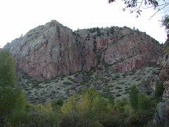 Rock Climbing Photo: Mid Way Duck Creek Canyon Rocks
