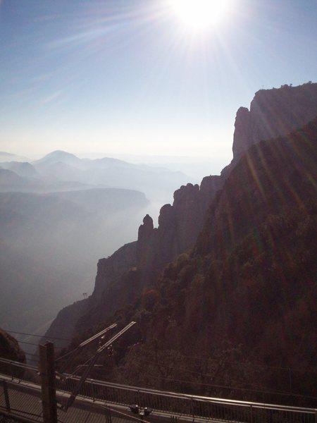 Rock Climbing Photo: Pretty sunny . . .