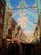 Rock Climbing Photo: Fallas Lights . . .