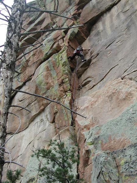 Rock Climbing Photo: Freddie Starts Aeolius