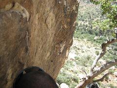 Rock Climbing Photo: P1 anchor