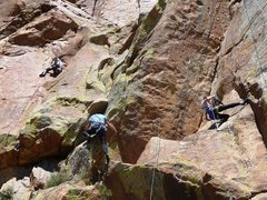Rock Climbing Photo: A busy day at the Curl by Fredritchs
