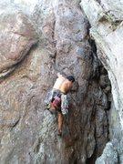 Rock Climbing Photo: Trundlasaurus Wall  Just Like Old Time (5.8)  Crow...
