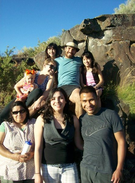 Rock Climbing Photo: Most of my Family in Idaho.