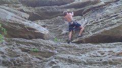 Rock Climbing Photo: super fun jug haul