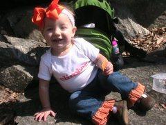 Rock Climbing Photo: Ava posing