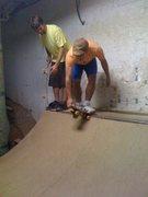 Rock Climbing Photo: Mini Skateboarding
