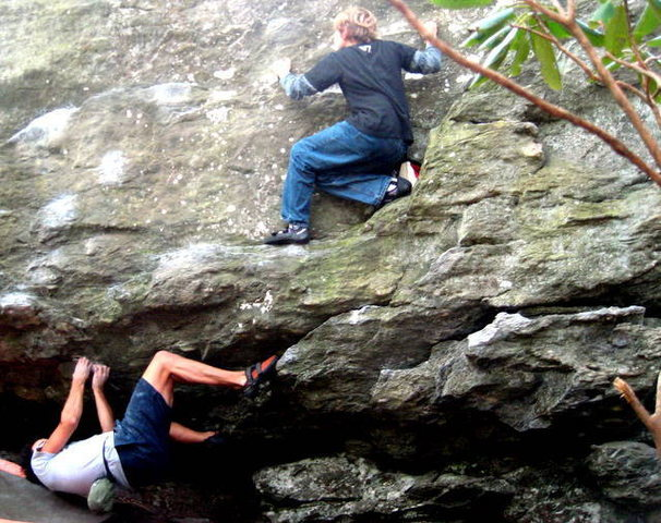 cool bouldering picture<br>