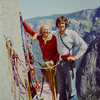 El Cap Tower in June '75.  Swami belt and Levis!<br> <br> With the late Floyd 'Tex' Bossier.