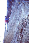 Rock Climbing Photo: The old A5 pitch on the West Face of Sentinel Rock...