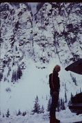 Rock Climbing Photo: The great Jeff Lowe pondering avalanche danger in ...