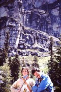 Rock Climbing Photo: 1981  After Travelers Buttress - the Leap.  With u...