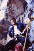 Rock Climbing Photo: 1974 First Grade IV with Larry Conrad.  South Butt...