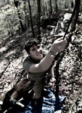 Rock Climbing Photo: Belaying at Fern