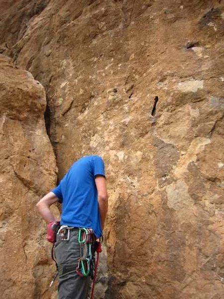Voie Hollandais, Todra Gorge, Morocco (6b+)
