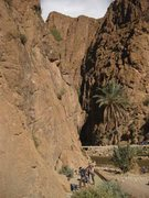 Rock Climbing Photo: Plage Mansour Sector, Todra Gorge, Morocco