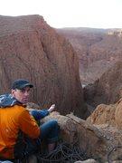 Rock Climbing Photo: Albert (6b), Pilier Du Cuchant