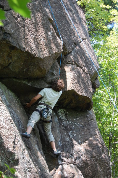 Rock Climbing Photo: Looking for the best jam on Attack of the Killer B...