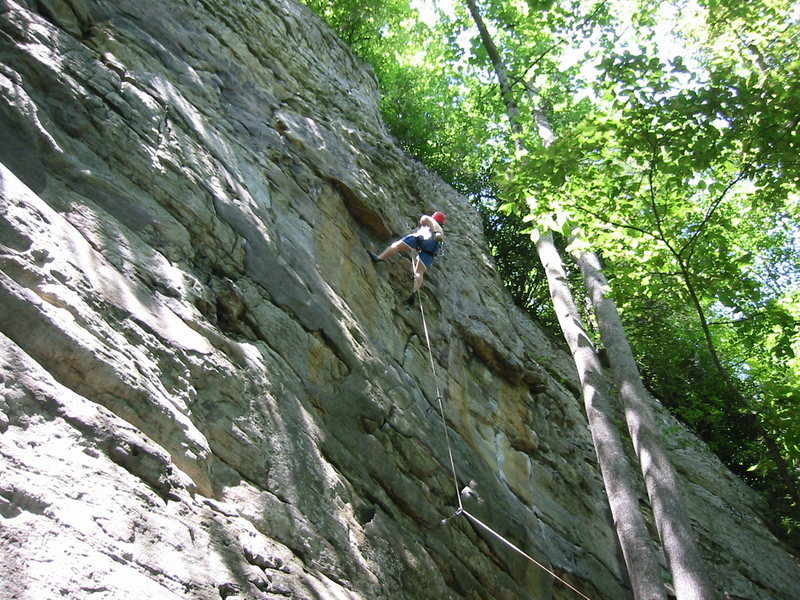 """Rock Climbing Photo: """"Sniff the Drill"""" 5.8"""