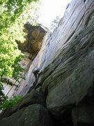Rock Climbing Photo: Zag 5.8